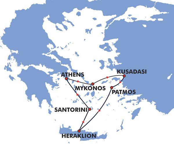 Cheap Ferries Around Greek Islands