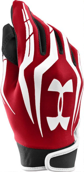 Under Armour F3 Youth Football Gloves Red