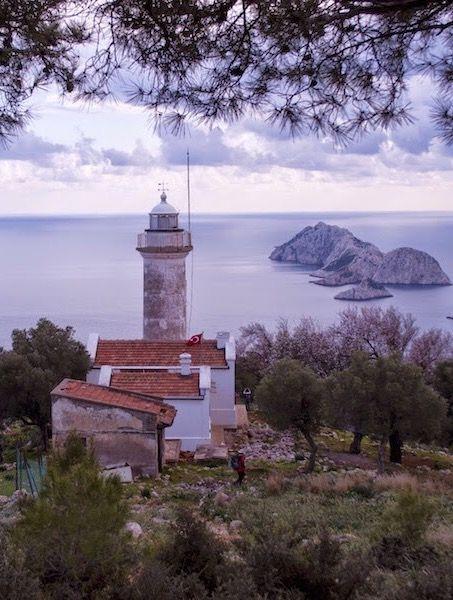 Gelidonya feneri (lighthouse ) / Taşlık burnu Teke yarımadası / Antalya - TURKEY.