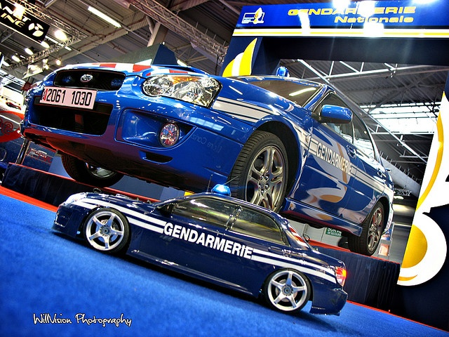 French Subaru Impreza - Gendarmerie French Police - RC Drift Car