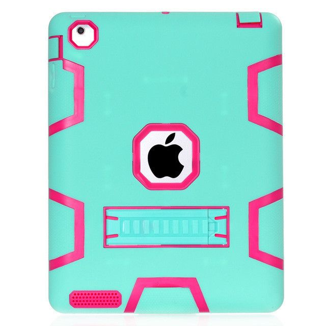 For Apple iPad 4 iPad 3 iPad 2 Case Cover Armor Defender Heavy Duty Rugged