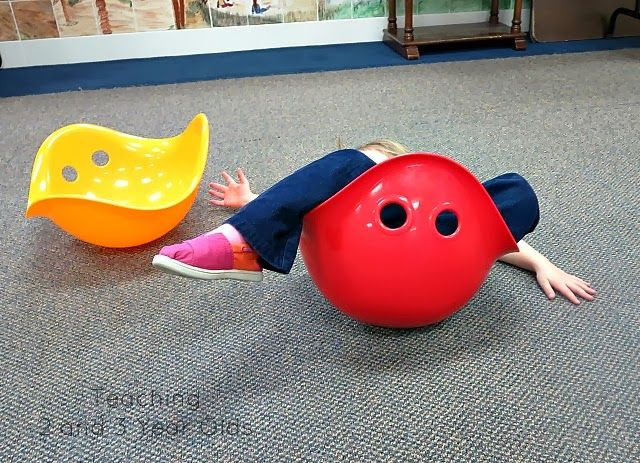 Teaching 2 and 3 Year Olds: Our favorite toys that help develop large motor skills.