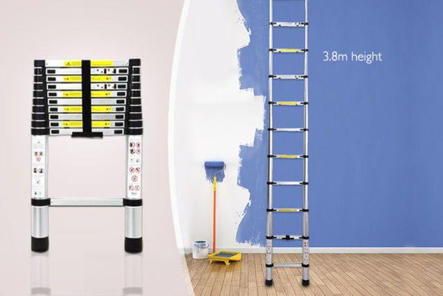 3.8m Telescopic Extendable Ladder
