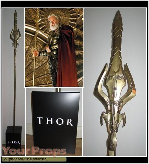 Thor original movie prop - Gungnir | Costume Inspiration ...  Thor original m...