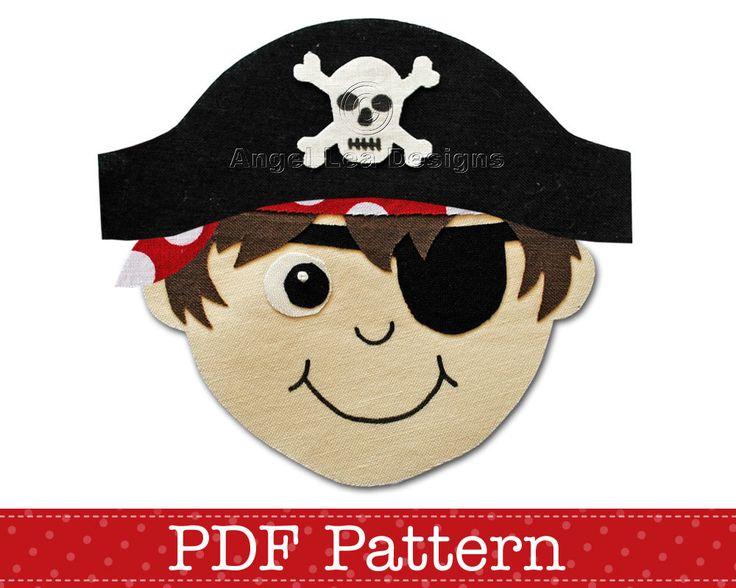 Pirate bandana template - photo#27