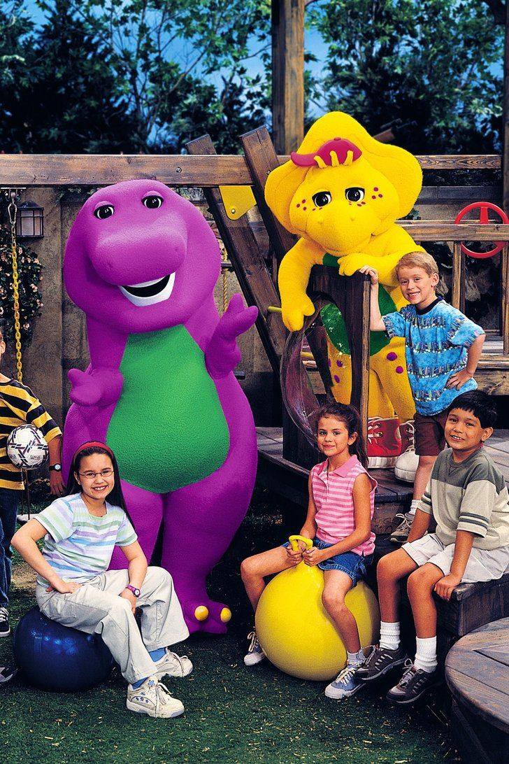 Watch the Cuteness That Is Selena Gomez and Demi Lovato on Barney & Friends