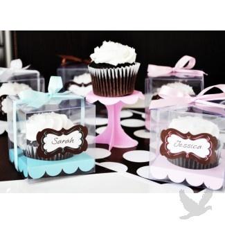Cupcake Favor Boxes (set of 12) #Cupcakes