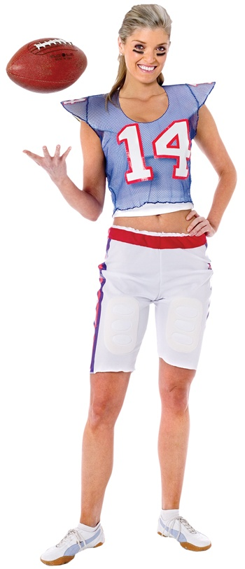 football player girl costume - Halloween Costume Football