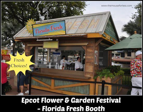 2017 Epcot Flower Garden Festival Menus Gardens Festivals And Epcot