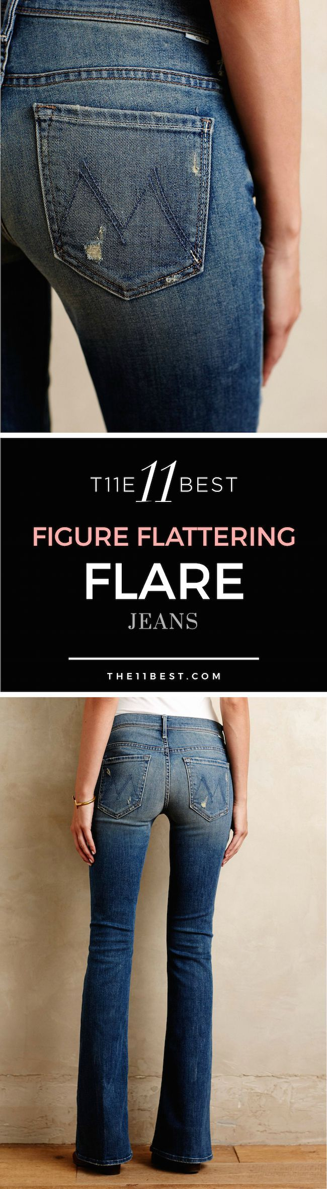 The 11 Best Flare Jeans