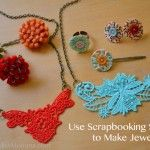 Use Scrapbooking Supplies to Make Jewelry