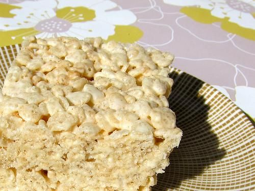Salted & Spiced Brown Butter Rice Krispie Treats | Recipe
