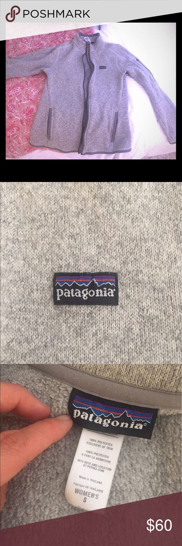 Patagonia Women's Jacket Patagonia Better Sweater Jacket for Sale.  Size small.  Sweater-knit fleece.  Birch white color.  Bought brand new from Nordstroms.  Selling because I just don't wear it.  No tears, rips or stains.  Probably has been washed less than 5 times because I just never used this jacket. Patagonia Jackets & Coats