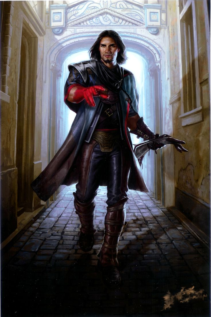 MtG Art: Dack Fayden from Conspiracy Set by | MTG ART - Art of Magic: the Gathering