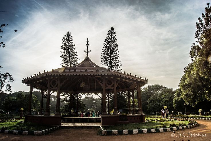 The Bandstand at Lalbagh, another view.
