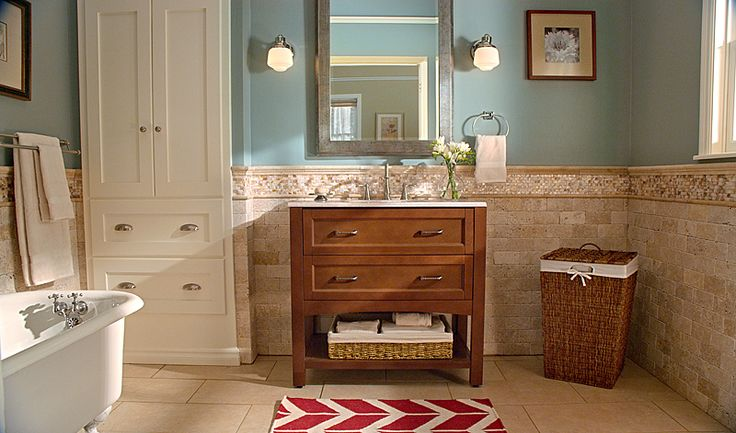 Abbey bath vanity with oasis stone effects vanity top and for Home depot bathroom remodel ideas