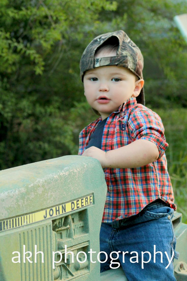 Cute little country boy :)