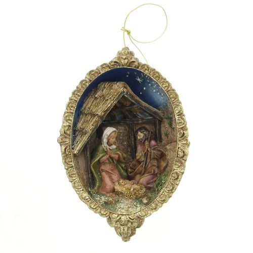 Vintage Religious Nativity Christmas Ornament: 40 Best Images About A Christmas Ornament On Pinterest