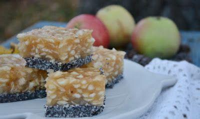 Troll a konyhámban: Mákos-almás kocka sütés nélkül - paleo