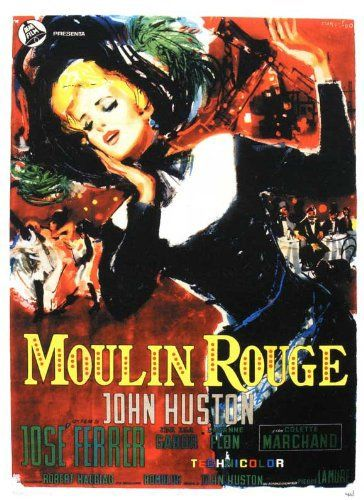 Directed by John Huston.  With José Ferrer, Zsa Zsa Gabor, Colette Marchand, Suzanne Flon. Fictional account of French artist Henri de Toulouse-Lautrec.