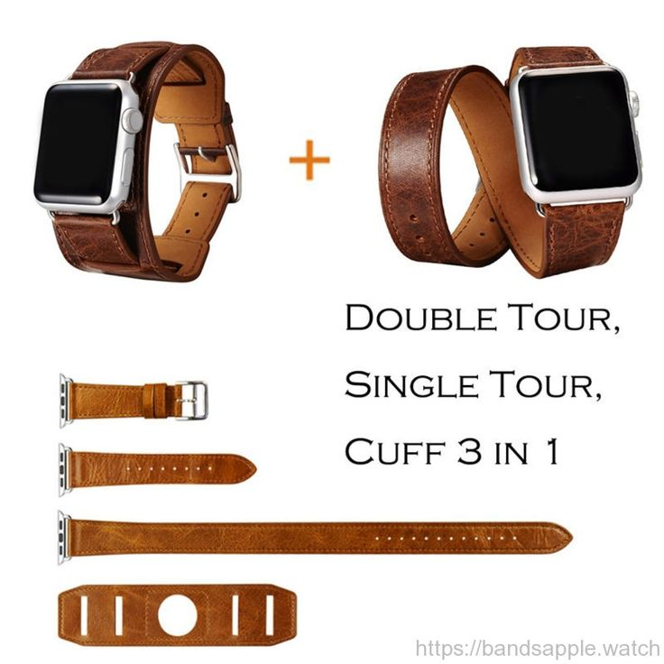 3 in 1 Cuff Single/ Double Tour Wraps for Apple Watch Band Extra-long High Quality //Price: $69.02 & FREE Shipping //     #applewatchmurah #applewatches #applewatchfans #applewatchedition #applewatchhermes #bandsapplewatch #applewatchnike #applewatchnikeplus #AppleWatchNike+ #applewatchrunning