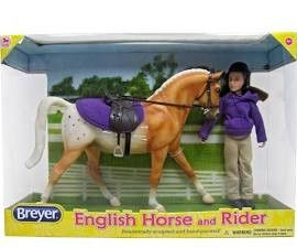 BREYER ENGLISH HORSE/RIDER