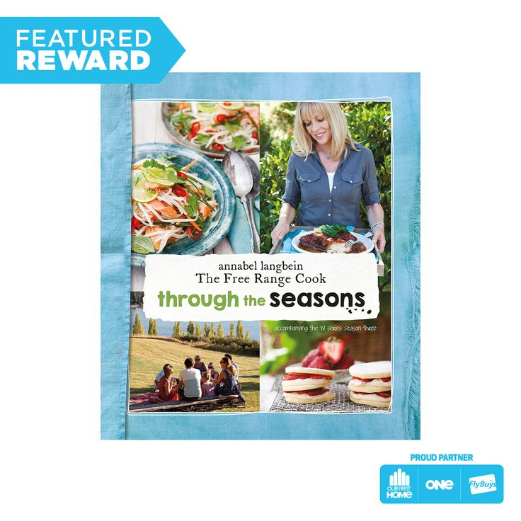 The Free Range Cook: Through the Seasons - Annabel Langbein #flybuysnz #290points #OFHNZ