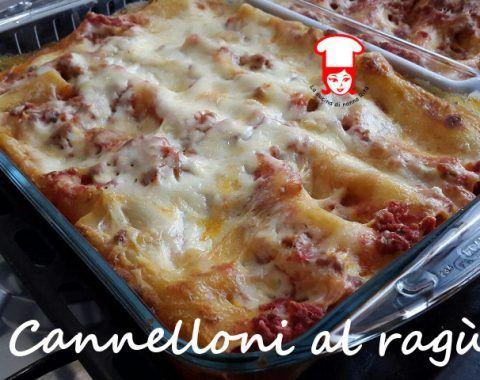 Cannelloni al ragù e besciamella: un classico intramontabile della cucina italiana