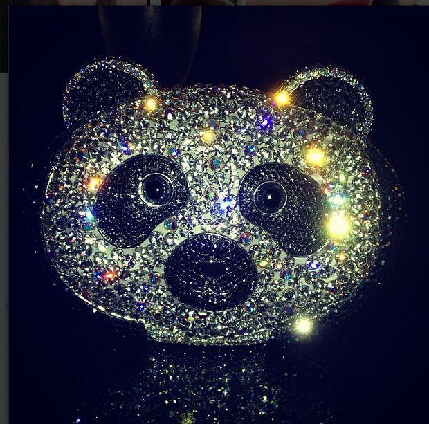 #Clutch #Panda #Cristal #Oreiro #HandBag #Accesories #Luxury #Glam