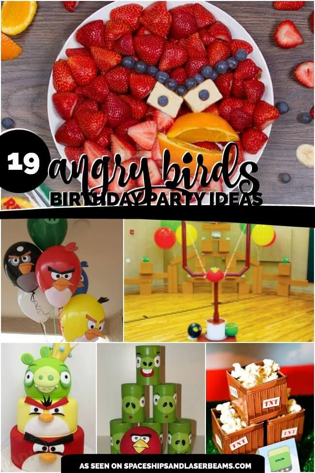 High-Flying Fun: 19 Angry Birds Party Ideas