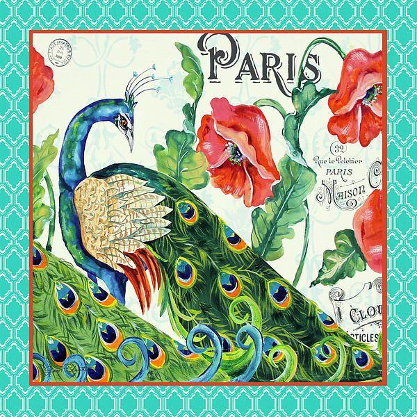 I uploaded new artwork to fineartamerica.com! - 'Peacocks In The Garden-paris-4' - http://fineartamerica.com/featured/peacocks-in-the-garden-paris-4-jean-plout.html via @fineartamerica