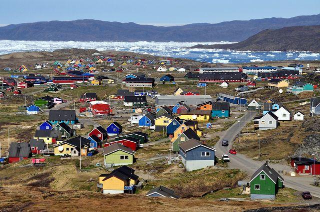 The town of Narsaq   Greenland   Highlights 2015