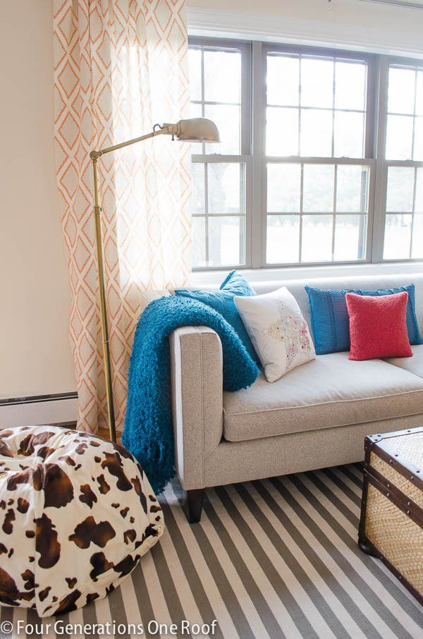 I Used The Trimaran Stripe Rug By @Dash And Albert Rug Company In The Design