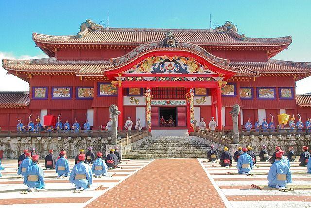 Shuri Castle,Naha, Okinawa  首里城