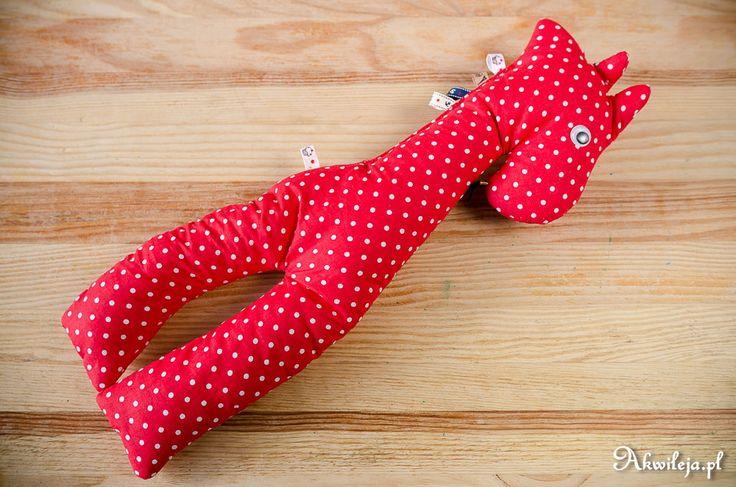 sewn mascot giraffe