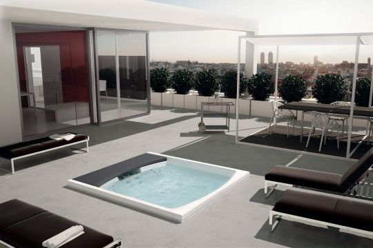 Teuco outdoor designer spa pool Seaside 641