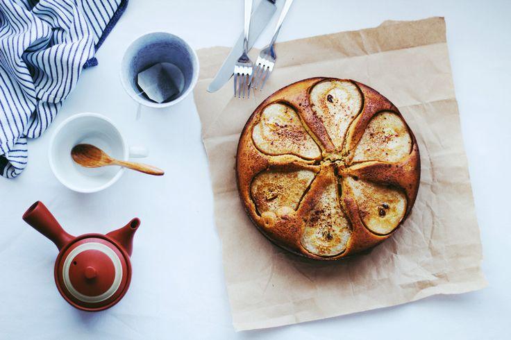 Pear   Apple Cake // Easy Baking // (Gluten Free) (Refined Sugar-Free) //