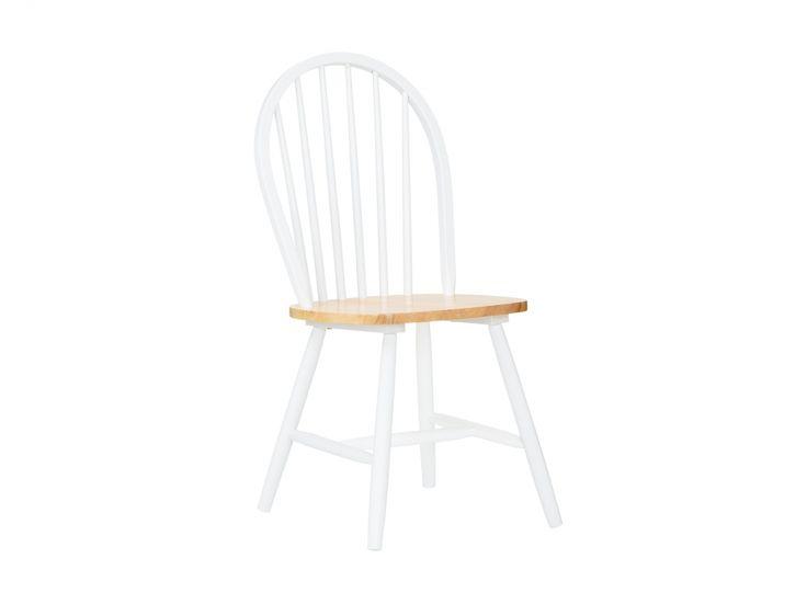 GILLHOV Stol Vit/Natur i gruppen Inomhus / Stolar / Matstolar hos Furniturebox (110-62-69495)