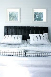 black pallet headboard ideas for the home pinterest