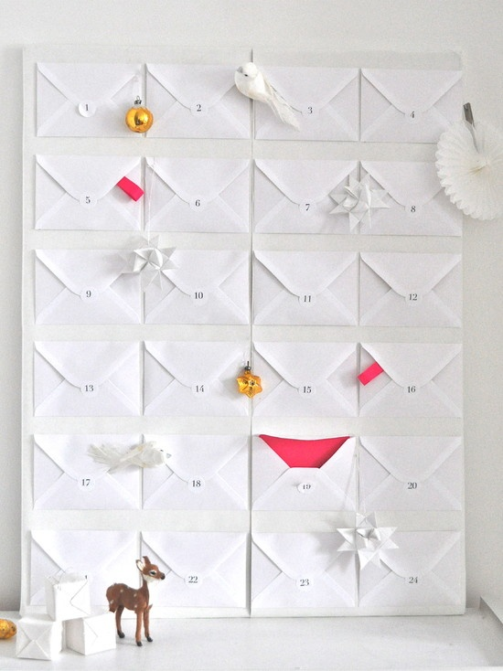 minimalistic advent calendar