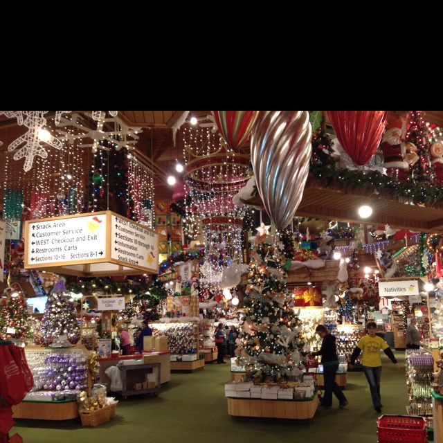 The nation's largest Christmas store!  Bronner's in Frankenmuth, Michigan - amazing wonderland of holiday magic!