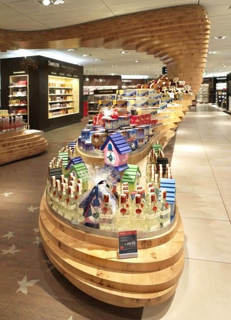 WAN INTERIORS Retail, Frankfurt Regional Duty Free Shop by GRAFT