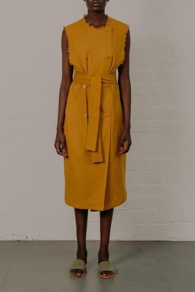 Sandy Dress / Mustard – Sauvika