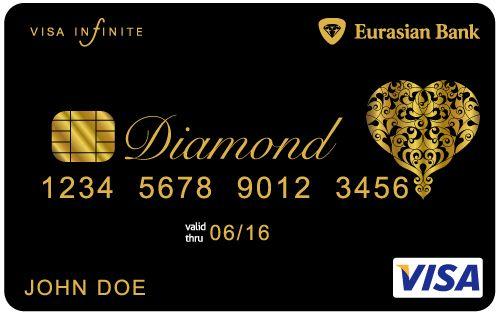 Visa Infinite Eurasian Diamond Card black card