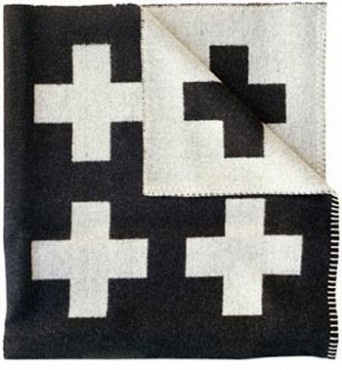Crux blanket by Pia Wallén