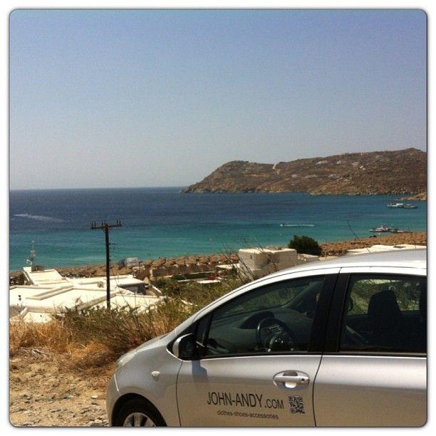 #johnandy #eliabeach #mykonos #justgreece #kuklades #greekislands #summeringreece #mykonosvacation #toyotayaris