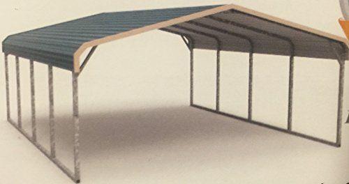 Regular Style All Steel Carport Cover 12' x 21' x 6' (9' ... https://www.amazon.com/dp/B017TUBFHA/ref=cm_sw_r_pi_dp_x_7oS2xbTMKBND6