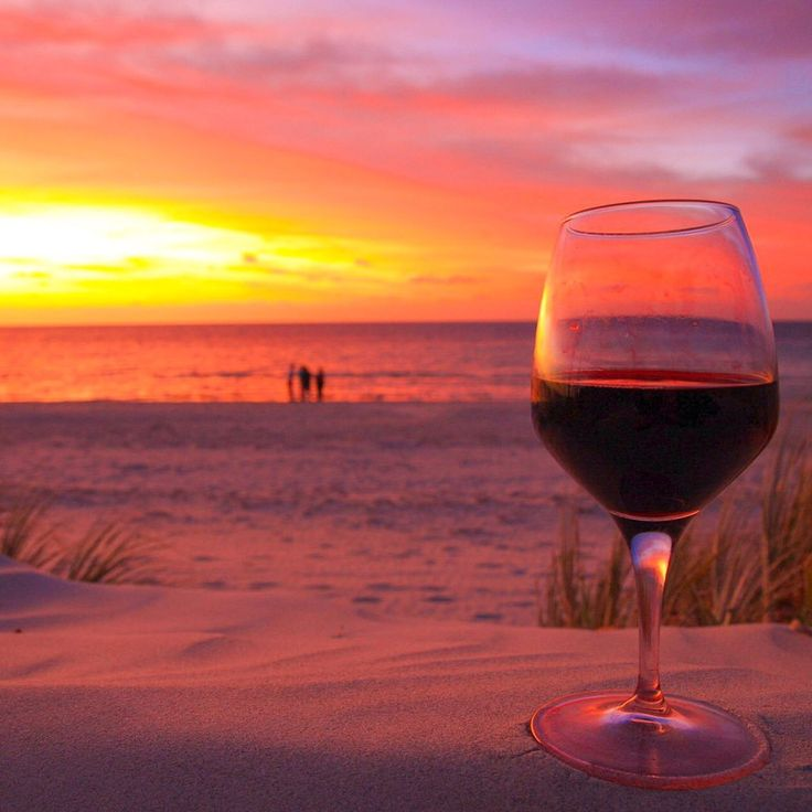 You know you're in South Australia  when the sunset's as red as your wine! ~ Yorke Peninsula.