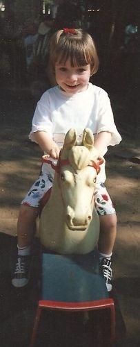 Op het paardje in de Efteling