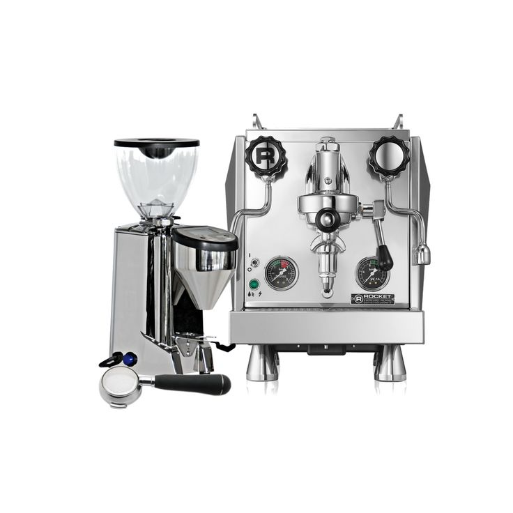 Experience The Giotto Evoluzione R And Fausto Grinder And Become A Home  Barista! Rocket Espresso Handmakes All Their Machines In Milan, Italy.